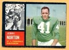 1962 Topps Football #146A Jerry Norton (VG-EX) -- St Louis Cardinels