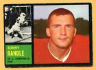 1962 Topps Football #144 Sonny Randle (VG-EX) -- St Louis Cardinels