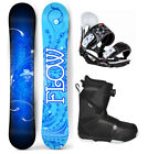 2019 FLOW STAR 147 Women's Snowboard+Head Bindings+Flow BOA Boots 4 YR WARRANTY