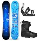 2019 FLOW Star 140cm Women's Snowboard+Flow LTD Bindings+Flow BOA LTD Boots NEW
