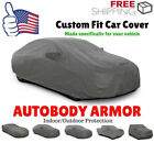 S/M Full Car Cover Waterproof Dust Rain Snow Resistant All Weather Protection B2