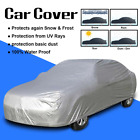 S/M Full Car Cover Waterproof Silver UV Rain Snow Dust Resistant Protection BE