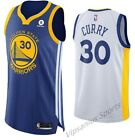 #30 Stephen Curry Golden State Warriors NBA Basketball Jersey - blue/white S-XXL
