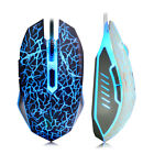 Wired Gaming Mouse USB Cable LED Optical Computer Mice PC Laptop Gamer Accessory