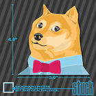 "Dapper DOGE - 5.0""x4.9"" - vinyl decal sticker meme"