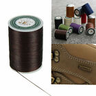 Kyпить Waxed Thread 0.8mm 90m Polyester Cord Sewing Machine Stitching For Leather Craft на еВаy.соm