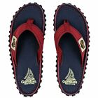 Gumbies - Islander Canvas Flip-Flops Navy Coast