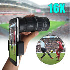 16x52 HD Monocular Dual Focus Optics Zoom Telescope Lens Camera Phone Holder
