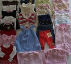 Baby Girls Size Newborn, 0-3 Months Fall - Spring Clothes Lot of 29 Items L4-18