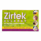 Zirtek Stings Pet Skin Dust Allergy & Hayfever Tablets 30 - Multibuy