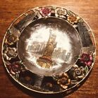 Vintage NEW YORK CITY Statue Of Liberty, Empire State Building, Souvenir Dish
