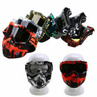 Flexible Goggles Glasses Face Mask Motorcycle Riding ATV Dirt Bike Eyewear USA