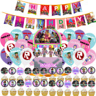 Roblox Party Favor Goody Bags Decoration Supplies Supply Balloon Cake Toppers