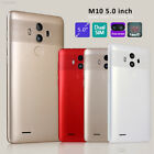 "7996 5"" Unlocked Dual SIM Android Smartphone Quad Core 3G Cell Phone GPS Gift"