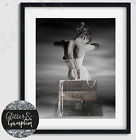 Fashion Scandi Art, Vogue Cover, Vogue print  beauty room bedroom wall art