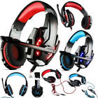 EACH G9000 Gaming Headset LED Headphone 3.5mm USB Surround Stereo For PC Laptop