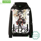 Anime DATE A LIVE Men's Sweater Warmth Unisex Pullover Sweatshirts Coat #H48