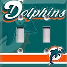 Football Miami Dolphins Retro Themed Light Switch Cover Choose Your Cover on eBay