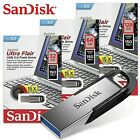 SanDisk Ultra Flair 32GB 64GB 128 GB USB 3.0 Flash Drive, Upto 150MB/s read