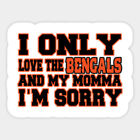 Cincinnati Bengals vinyl sticker for skateboard luggage laptop tumblers car (e) on eBay