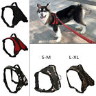 Non Pull Dog Harness Dog Chest Strap Adjustable Reflective Collar Lead Pet Vest