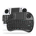 Ipazzport I8 2.4G Wireless Arabic Version Rechargeable Mini Keyboard Touchpad Ai