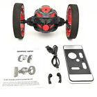 High Speed Flexible Wheels Rotation Bounce Car 2.4GHz RC Jumping Car Robot Toys