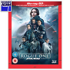 ROGUE ONE: A STAR WARS STORY Blu-ray 3D + 2D (REGION-FREE) $24.0 USD on eBay