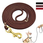 Dog Leather Leash Soft Puppy Lead Training Leash for Chihuahua 4/6ft 3 Colors