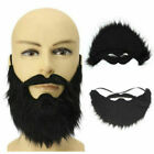 Fancy Dress Fake Beard. Halloween Costume Party Facial Hair Moustache Wig Funny