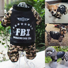 Camouflage Pet Coat Dog Jacket Clothes Puppy Cat Sweater Coat Clothing Apparel