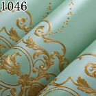 Luxury Vintage European Style Damask Wallpaper For Walls 3 D Embossed Modern