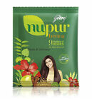 Godrej Nupur Henna Powder Mehendi Hair Growth Color + 9 Herbs (No Ammonia) UK