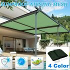 Sun Shade Sail Rectangle Patio Top Replacement Cover 16*20 Top Canopy Shelter BE