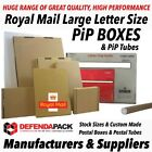 Royal Mail Large Letter PiP Strong Postal Posting Packing Mailing Boxes Tubes