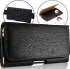 Leather Holster Belt Clip Protective Armor Rugged Case Cover Pouch Universal 5.5