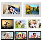 7 -14 Inch Screen LED/LCD Digital Photo Frame Calendar Timer Switch Video Player