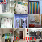 Spring Loaded Extendable Telescopic Net Voile Tension Curtain Rail Pole Rods HOT