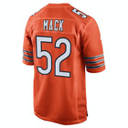 Men's Chicago Bears #52 Khalil Mack Orange 2018 Football Jersey S-3XL