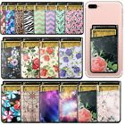 Flowery Stick On Phone Wallet Card Cash Holder [Cute Card Holder for Girls]