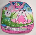 Pop Up Kids Play Tent, Teepee for Indoor and Outdoor, Animal Design, Blue pink