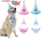 Pet Dog Cat Big Small Animal Birthday Pawty Party Hat Fancy Dress Costume Outfit