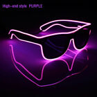 Blinds Modes Classic Carnival Neon Light Luminous LED Wire EL Glasses