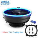 PCCOOLER 12cm Cooling Fan LED CPU Cooler For Intel LGA775 115X/AMD AM2+ AM3 AM4