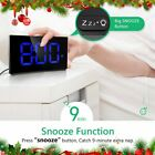 Mpow LED Digital Alarm Clock Curved Screen 375 Large Display Clocks Kids Gift