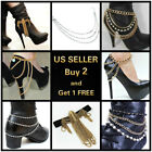 9+ Styles Women's Western Boots Chain Anklet Bracelet with Charms