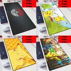 Pokemon GO Pikachu Mousepad Anime Mouse Pads Game Playmat Extra Large Table Mat