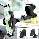 Gravity Car Mount Qi Wireless Charger Charge Pad Cell Phone Holder Stand Zd