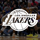 Los Angeles Lakers NBA Logo / Vinyl Decal Sticker on eBay