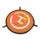 Cloth Waterproof Folding Parking Apron Portable Reversible Drone Landing Pad BE